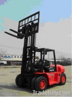 Qingong 10 Tons Diesel Powered Forklift CPCD100