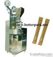 Double lane stick sugar packaging machine