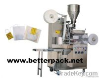 Automatic tea bags package machine with string and label