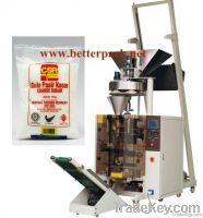 Automatic big bag rice sugar nuts beans forming filling sealing machin