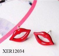 Unique Design Enamel Earrings