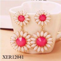 Stylish Flower Earrings