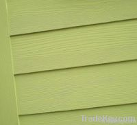 fiber cement wood grained board