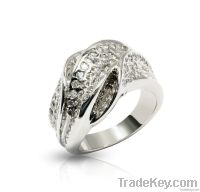 mens silver ring settings