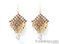 Pearl Stone Silver Earring Tops