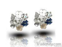 silver earring jewelry