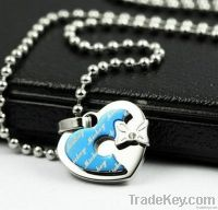fashion heart shape pendant