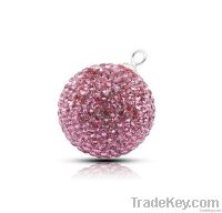 925 silver crystal pendant
