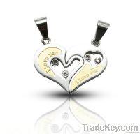 fashion heart shape  pendant