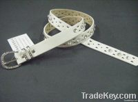 2011 fashion belt/rhinstone pu belt
