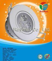 3w led adjustable down light, led recessed downlight, adjustable led d