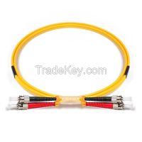 OS1/OS2 ST-ST Patch Cords Simplex/Duplex 0.9/2.0/3.0mm PVC/LSZH 1M,2M,5M,10M,20M,30M,50M,100M