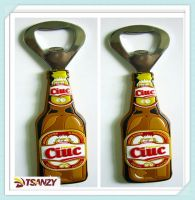 promotional PVC bottle opener/beer opener