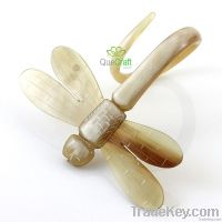 DRAGONFLY Handmade Organic Horn Napkin Ring