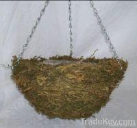 garden hanging flower pots/flower basketry/rattan basketr