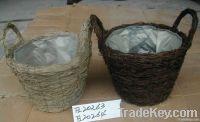 flower pots/flower basketry/paper basketry crafts