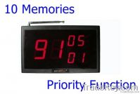 serviBELL wireless service call receiver - display for waiter / server