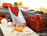 Red Pro V Stainless Steel  Food Slicer SEEN TV