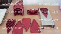 Red Pro V Stainless Steel  Food Slicer SEEN TV