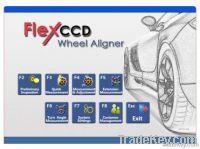 Wheel aligner CCD
