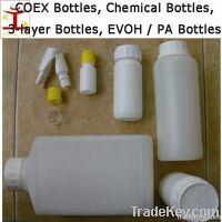 COEX bottles, chemical bottle, EVOH PA Nylon Barrier bottle