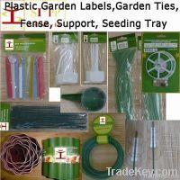 Garden label, marker, tag, tie, fense, garden support, planting support