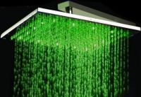 Rainfall Solid Brass Shower Head with 3 colors