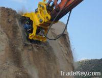 Excavator hydraulic compactor for Hitachi Komatsu Doosan