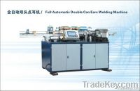 Full automatic double can ears welding machine