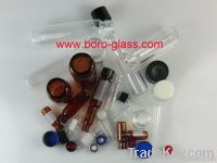 all kinds of sample vials with caps and septas