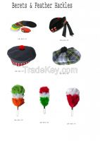 Berets & Feather Hackles