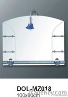 Bath Mirror with lamp and shelves DOL-MZ018