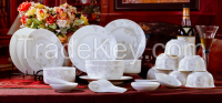 22pcs Porcelain ceramic  Dinner Set
