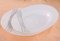 Porcelain ceramic Plate, new bone