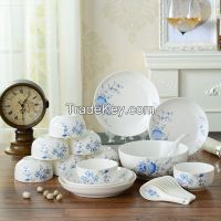 22pcs Porcelain ceramic  Dinner Set