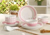 Porcelain Dinner Set, ceramic dinner set