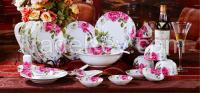 Bone porcelain ceramic Dinner set