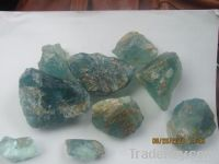 Gem quality aquamarine