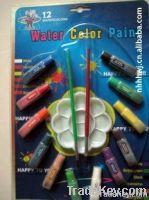 Watercolor colors suit