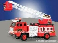 Plastic Fire Truck Toy