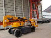 luffing boom work platforms articulate telescopic lifts