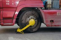 Car anti-Theft devices(wheel clamp)