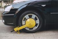 STD Police Auto Alarming wheel clamp