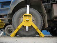 Heavy-duty wheel lock