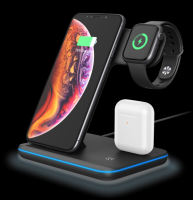 three-in-one wireless charger