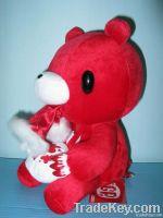 blood plush stuffed gloomy bear toys