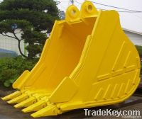 Excavator buckets and spare parts