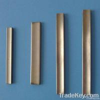 Titanium curved plate