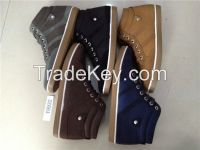PVC Injection Fashion Men's Boots shoes, Canvas Casual Boots Footwear