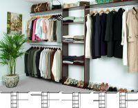 Reach-In Solid Wood Closet Organizers